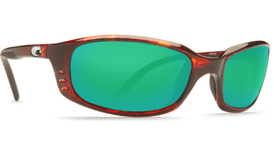 Picture of Brine Sunglasses - Tortoise/Green Mirror 580G