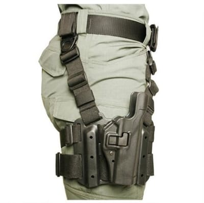 Picture of Tactical Serpa Holster - Black - Right - Beretta 92 (NOT ELITE/BRIG/92A1/96A1)