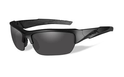 Picture of Valor Polarized Glasses - Matte Black / Polarized Smoke Grey / Black Ops