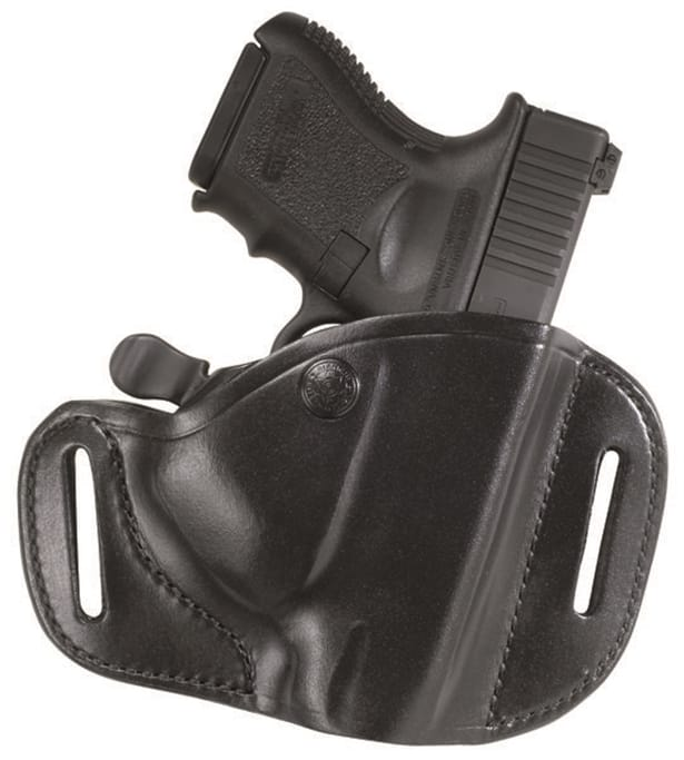 Bianchi - Carrylok Auto Retention Leather Holster - Glock 17