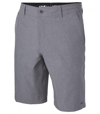 Picture of Men's Loaded Heather Hybrid Shorts - Grey - 32