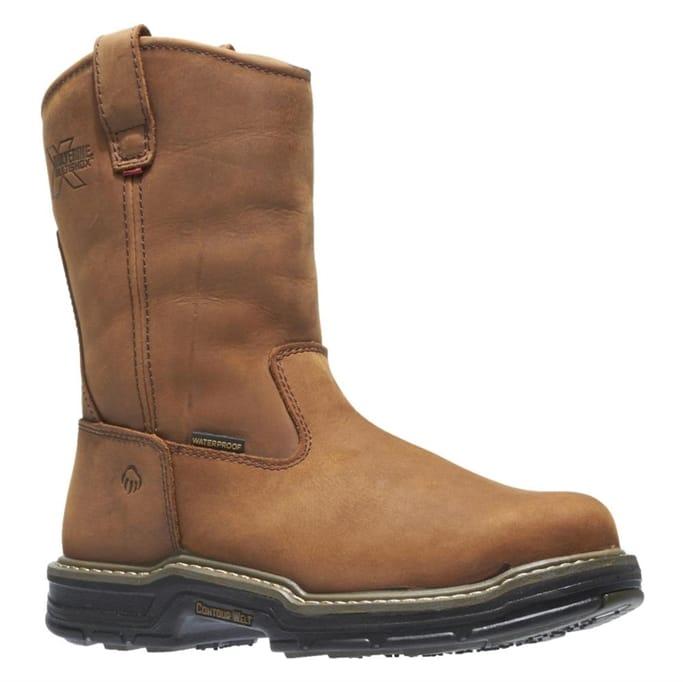 69c3db3acb8 Wolverine - Men's Marauder Multishox Contoured Welt Steel Toe Boots ...