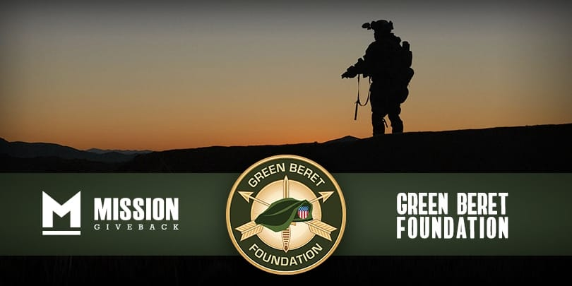 cef15943e0843 Every GovX Order This Month Will Support the Green Beret Foundation