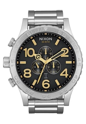 Picture of The 51-30 Chrono Watch - Black Stamped / Gold