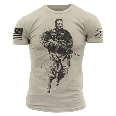 Picture of Men's Tactical Teddy T-Shirt - GovX Exclusive - Sand - S