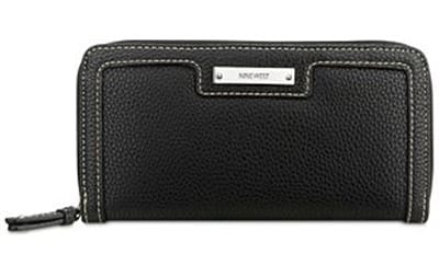 Picture of Women's Table Treasures Small Zip Around Wallet - Black