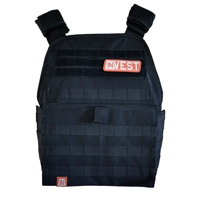 Picture of Invest Pro Weight Vest Combo - Midnight Black