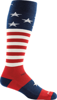 Picture of Captain America Cushion Socks - Stars And Stripes - L