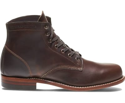 """Picture of Men's 1000 Mile 6"""" Leather Boots - Brown - 8 - Extra Wide"""