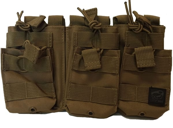 Death Dealer Tactical - Triple Stacker Molle Mag Pouch Military Discount  ddf9a00baf