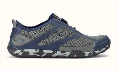 Picture of Men's Eleu Trainer Shoes - Charcoal/Trench Blue - 9.5