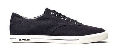 Picture of Men's Hermosa Plimsoll Standard Casual Shoes - Black - 10