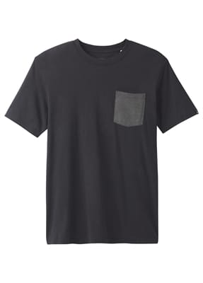 Picture of Men's PrAna Pocket T-Shirt - Black - L