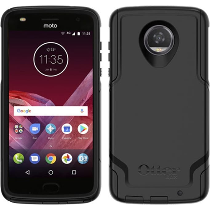 Otterbox - Commuter Case for Motorola Moto Z2 Play Military