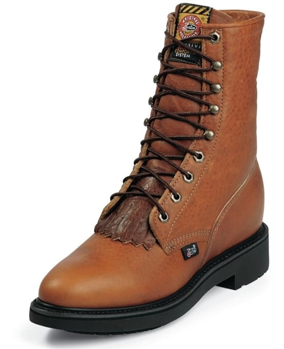596b20e9943 Justin Original Workboots - Men's Copper Caprice Boots - 762 ...