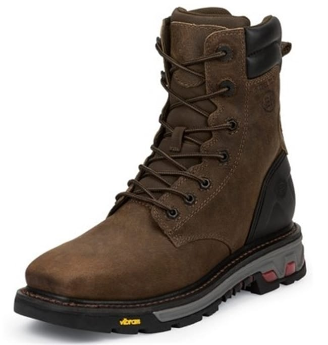 38224cccb29 Justin Original Workboots - Men's Pipefitter Tobacco Steel Toe Boots ...