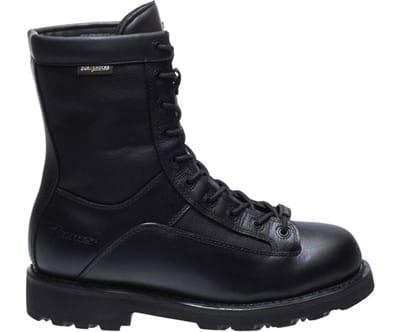 "Picture of Men's 8"" Durashocks Waterproof Lace To Toe Boots - Black - 10 - Medium"