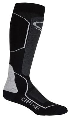 Picture of Women's Ski+ Medium OTC Socks - Black - Oil - Silver - L