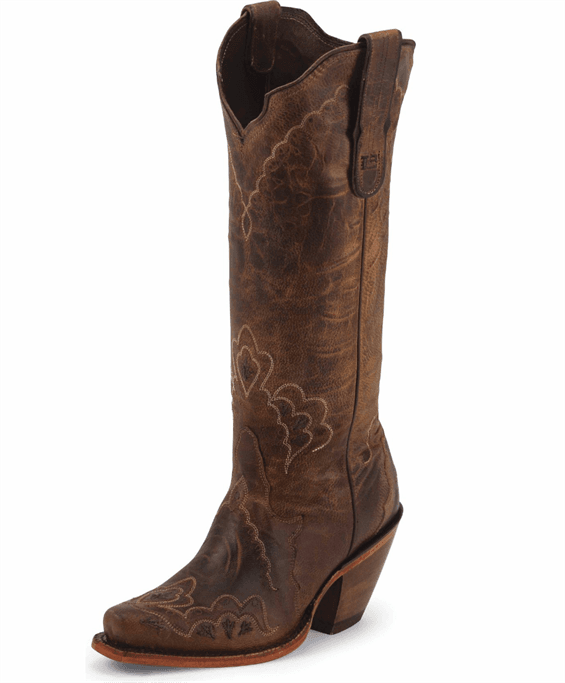 333cc70377d Tony Lama - Women's Tan Saigets Worn Goat Boots - 6071L Military ...