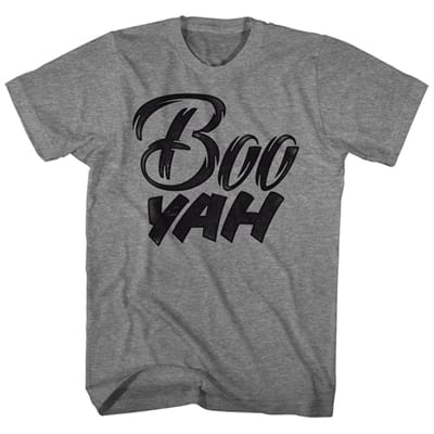 Picture of Men's Boo Yah T-Shirt - Graphite Heather - L