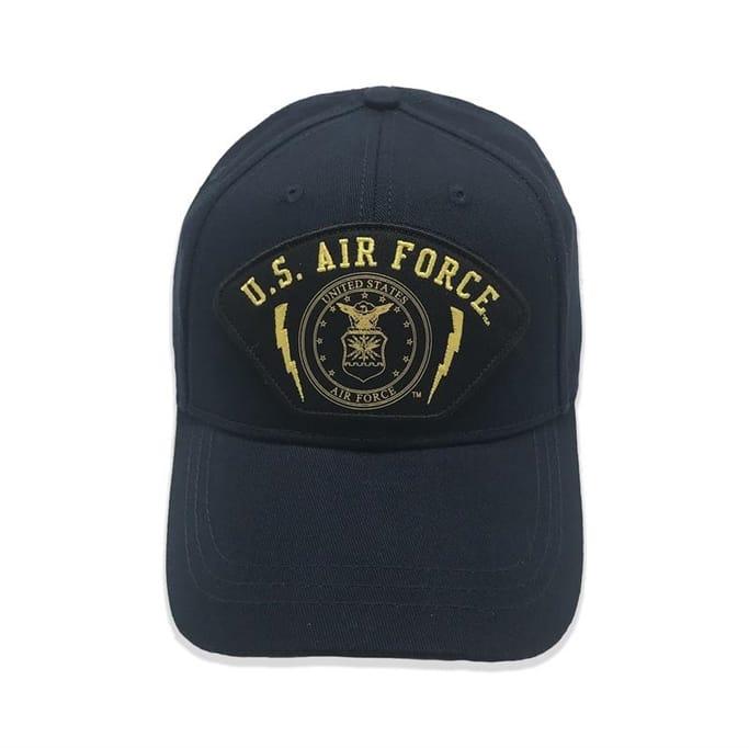 1f631bbed2c Bunker 27 - USAF Emblem Cap - Military   Gov t Discounts