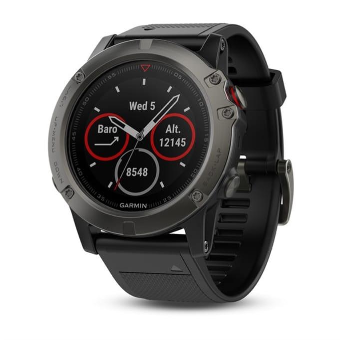 Garmin - Fenix 5X Sapphire Multisport GPS Watch with Canada TOPO