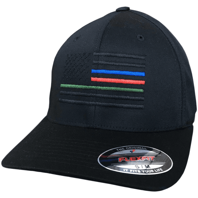 Eagle Six Gear - The Defenders Flexfit Flag Hat - Military & Gov't